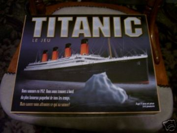 Titanic The Board Game....(French Version)